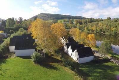 Maison cosy, rénovée, four à micro-ondes, près de Vielsalm