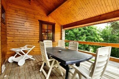 Magnifique chalet avec sauna et jardin privé à Septon