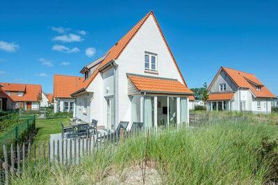 Villa, 2 salles de bains, machine à laver, à 10 km d'Ostende