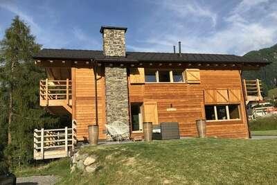 Maison de vacances de charme à La Tzoumaz près des pistes