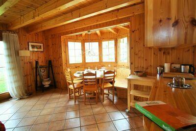 Charmant chalet à Hérémence près des Quatre Vallées avec sauna