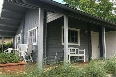 Maison de vacances scandinave avec sauna à Kröpelin