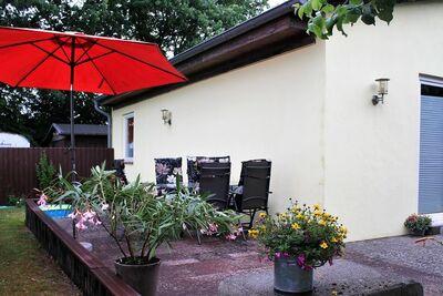 Maison de vacances confortable à Dorf Gutow près de la mer