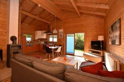 Maison de vacances de luxe avec sauna à Brusow en Allemagne