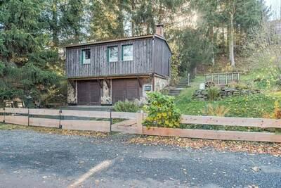 Maison de vacances chaleureuse avec terrasse à Güntersberge