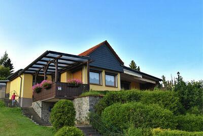 Maison confortable à Güntersberge avec vue sur le lac