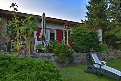 Maison de vacances confortable à Güntersberge avec jardin