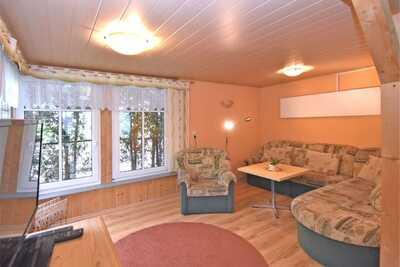 Belle maison de vacances dans le parc naturel du Vogtland avec grand terrain en bordure de forêt