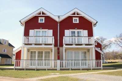 Maison de vacances luxe avec poêle à bois, sur mer Baltique