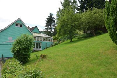 Maison de vacances vintage à Lonau avec piscine