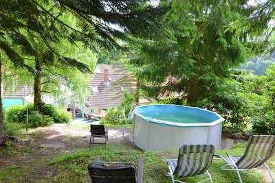 Maison de vacances paisible avec sauna et piscine à Herzberg