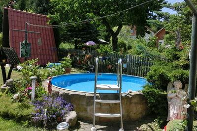Maison de vacances confortable avec piscine à Blankenburg