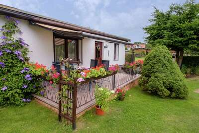 Maison de vacances confort avec terrasse privée, Hasselfelde