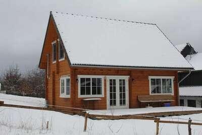 Maison de vacances en bois à Wissinghausen avec sauna privé