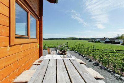 Maison de vacances de luxe à Medebach avec terrasse privée