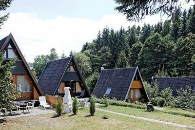 Maison de vacances individuelle avec terrasse, lac baignade