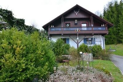 Maison de vacances moderne à Saldenburg avec sauna