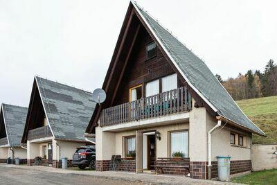 Maison de vacances avec balcon privé à Trusetal Allemagne