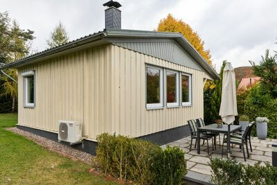 Maison de vacances confortable et isolée au milieu de la nature de la forêt de Thuringe