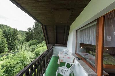 Maison de vacances en Thuringe avec vue imprenable, terrasse et jardin