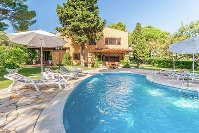 Maison de vacances à Sant Antoni de Calonge, avec piscine.