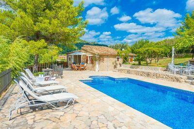Villa moderne avec piscine à Mancor de la Vall