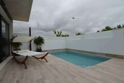 Maison de vacances avec piscine privée, proche mer à Murcia