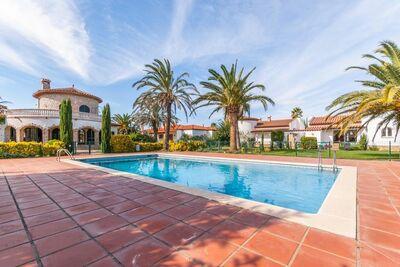 Superbe villa avec piscine à Vilacolum