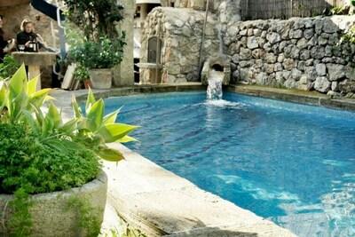 Maison de vacances ancienne à Valldemossa, piscine privée