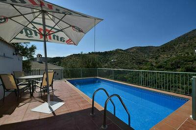 Maison de vacances vintage en Andalousie avec piscine