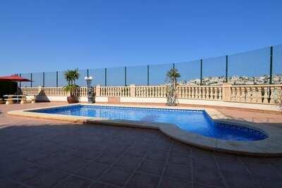 Villa individuelle avec piscine et vue imprenable sur le parcours de golf de La Marquesa