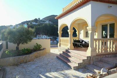 Superbe maison de vacances à Alcalali avec piscine privée