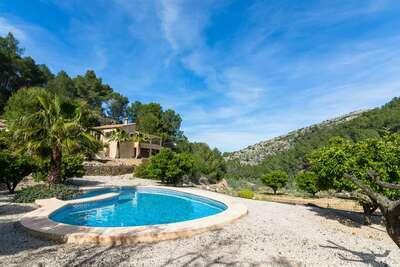 Villa moderne avec piscine privée à Murla