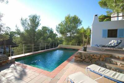 Belle Villa avec piscine à St Josep de sa Talaia