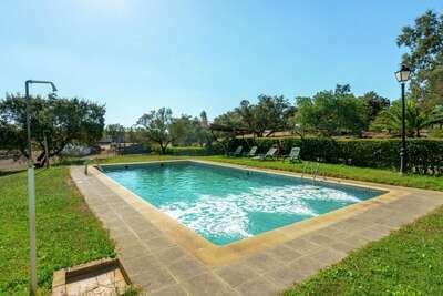 Maison de vacances cosy avec piscine à Herrera de Alcántara
