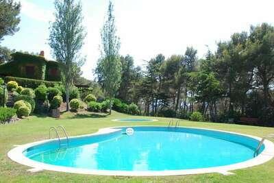Paisible maison de vacances avec piscine à Llafranc
