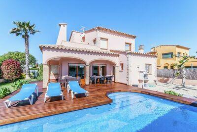 Luxueuse Villa à St Pere Pescador avec piscine
