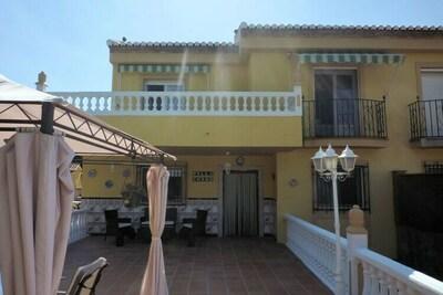 Maison de vacances avec piscine à El Puntal