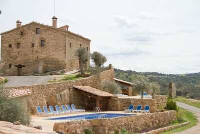 Villa patrimoniale à Lloberola avec piscine