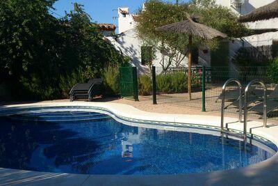 Gîte haut de gamme avec terrasse et piscine en Andalousie