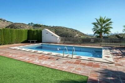 Gîte couvert, piscine et jardin fantastiques en Andalousie
