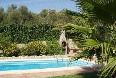 Villa de campagne avec piscine, jardin et vues en Andalousie