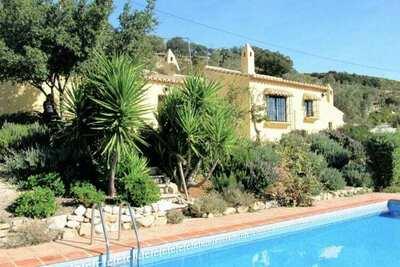 Gîte confortable à La Joya avec piscine privée