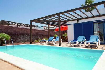 Villa spacieuse avec piscine à Playa Blanca