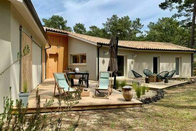 Maison de vacances indépendante, Gironde, jardin privatif