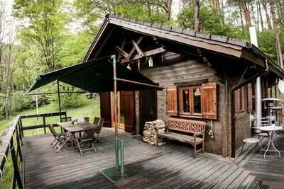 Chalet confortable avec sauna privé à Bousseviller, France