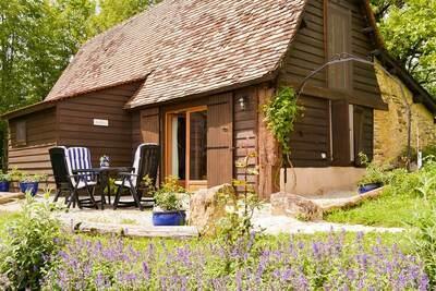 Luxueux chalet avec piscine privée à Thenon