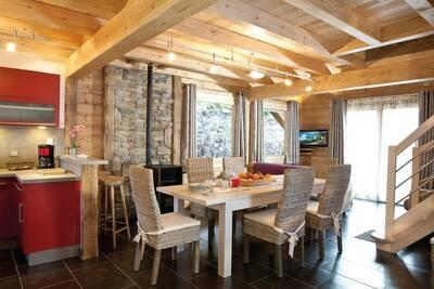 Chalet spacieux avec sauna à La Bresse