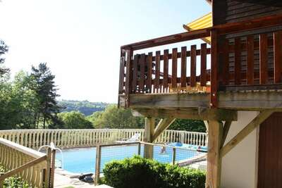 Maison de vacances confortable près du lac à Beaulieu