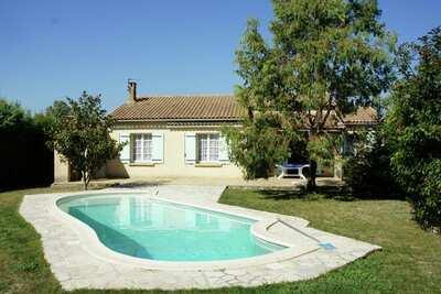 Maison de vacances confort, Plan-d'Orgon, France, piscine